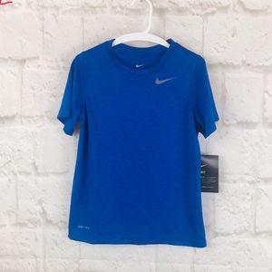 Boys The Nike Tee Dri Fit Short Sleeve  H19